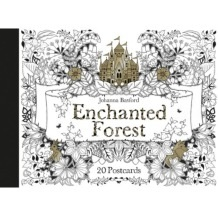 Enchanted Forest 20 Postcards by Johanna Basford