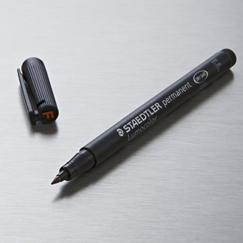 Lumocolor F Permanent Pen Black