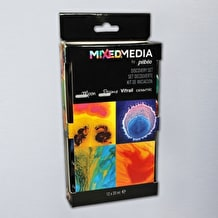 Pebeo Mixed Media Discovery 20ml Assorted Colours Set of 12