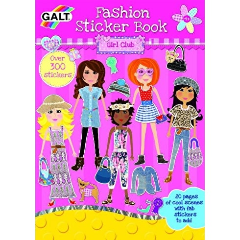 Galt Sticker Pad Girl Club