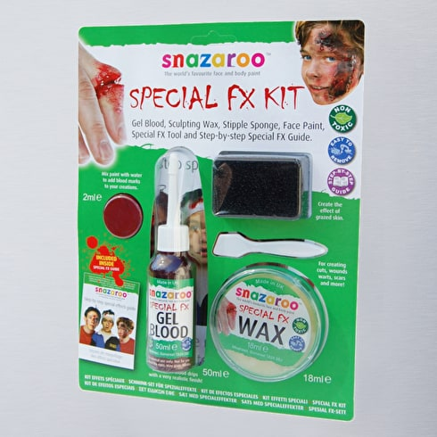 Snazaroo Special FX Scary Faces Kit | Face Paint | Cass Art