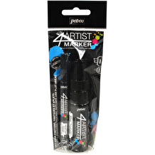 Pebeo 4Artist Marker 2mm and 8mm Black Set of 2