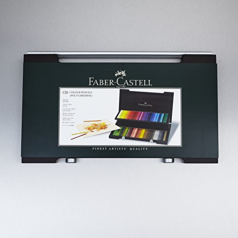 Faber-Castell Polychromos Wooden Case Pencil Set of 120