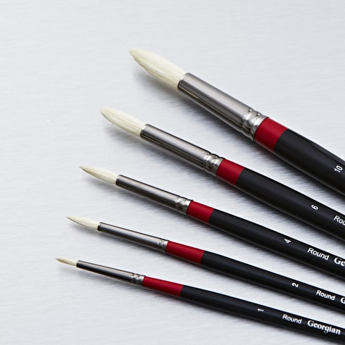 Daler Rowney Georgian Round | Artist Brushes | Cass Art