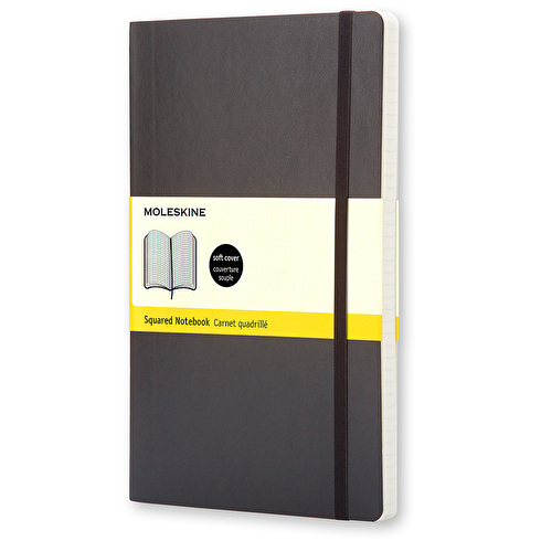 Moleskine Large Squared Notebook