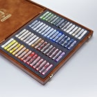 Schmincke Pastell Malkästen Pastels Wooden Box Set of 60