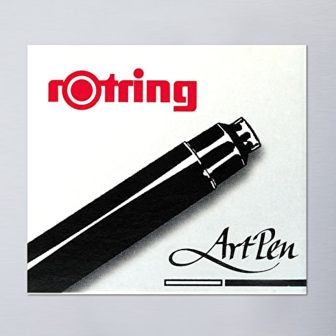 Rotring Artpen Ink Short Cartridge Set of 6 Black