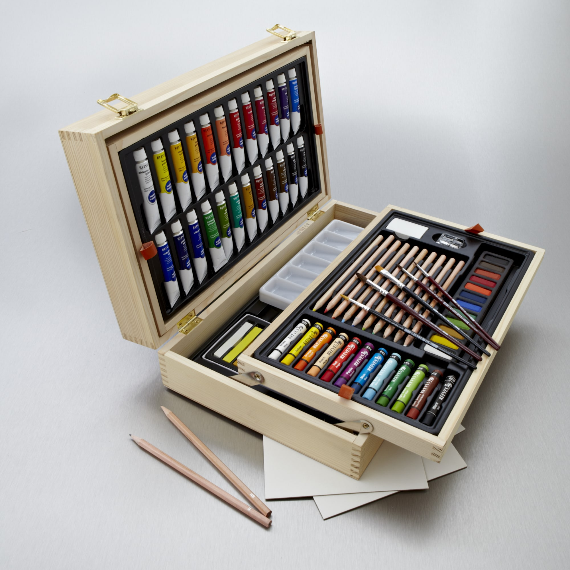 Reeves Oasis Watercolour Art Chest Christmas Gifts For