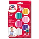 Fimo Kids Assorted Colours Set of 6 42g