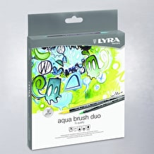 Lyra Aqua Brush Duo Set of 24
