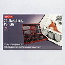 Derwent Sketching Wooden Box Set of 72