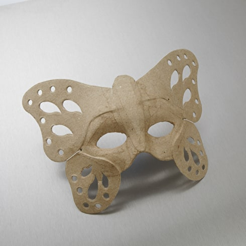 Decopatch Papier Mache Butterfly Mask 23.5 x 19.5cm