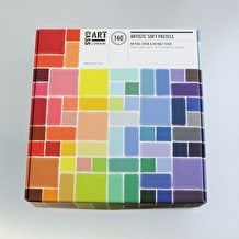 Cass Art Soft Pastels 60 Full and 80 Half Assorted Colours Set