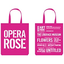 Cass Tote Bag Opera Rose