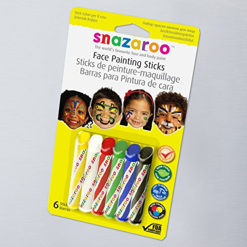 Snazaroo Unisex Facepaint Sticks