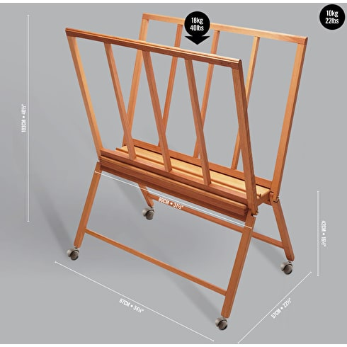 Mabef M40 Folding Giant Print Rack | Art Display | Cass Art