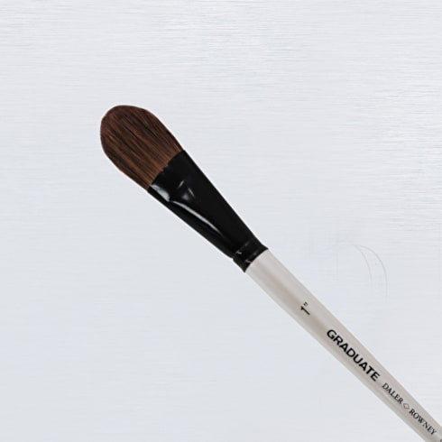 Daler Rowney Graduate White Goat Oval Wash Brush