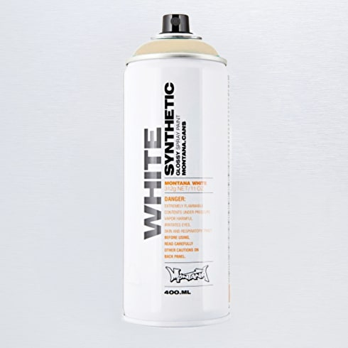Montana WHITE Gloss Spray Paint