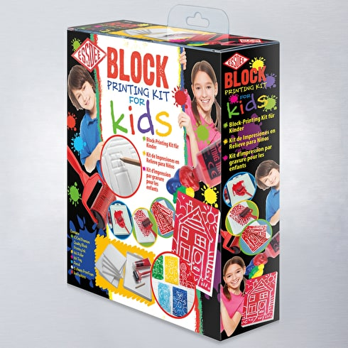 Essdee Block Printing Kit for Kids