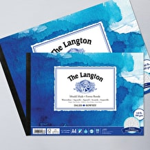Daler Rowney The Langton Watercolour Pad 300gsm 12 Sheets Rough