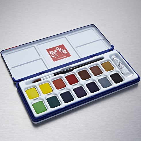Caran D'ache Gouache Studio Box Assorted Colours Set of 15