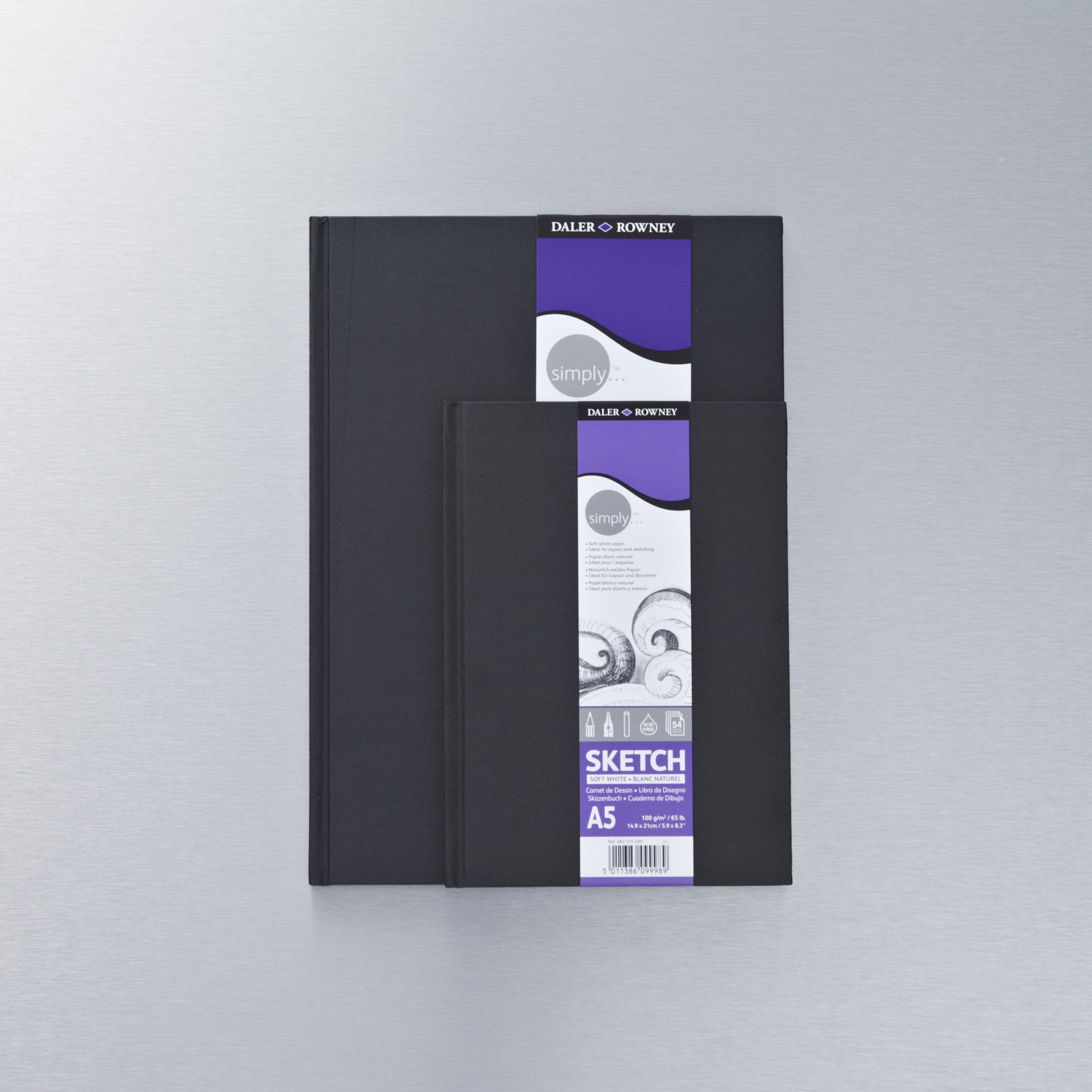 Daler rowney simply slim hardbound sketchbook buy for Buy blueprint paper