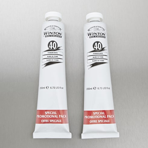 Winsor & Newton Winton Oil Colour 200ml Double Pack Cass Exclusive