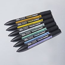Winsor & Newton ProMarker Metallic Set of 6