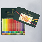 Faber-Castell Polychromos Artist Assorted Coloured Pencils in a Tin Set of 120