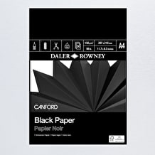 Daler Rowney Canford Black Paper Pad