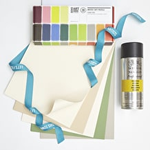 Starting with Pastels Set with Pastels, Paper & Fiixative