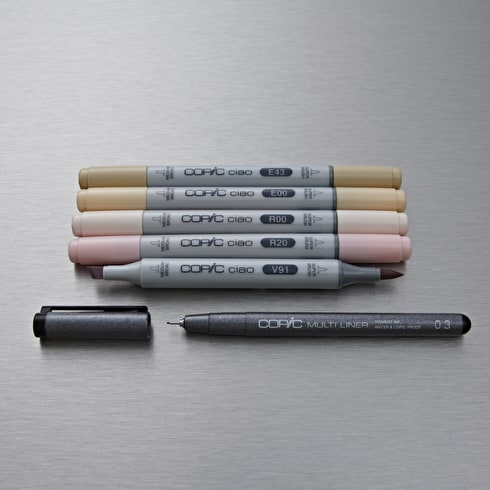 Copic Ciao Skin Tones Pack of 6