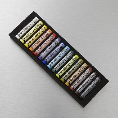Rembrandt Soft Pastels Full Length Set of 15