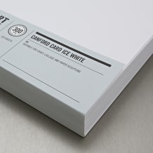 Cass Art Canford Card 300gsm 100 Sheets A4 Ice White