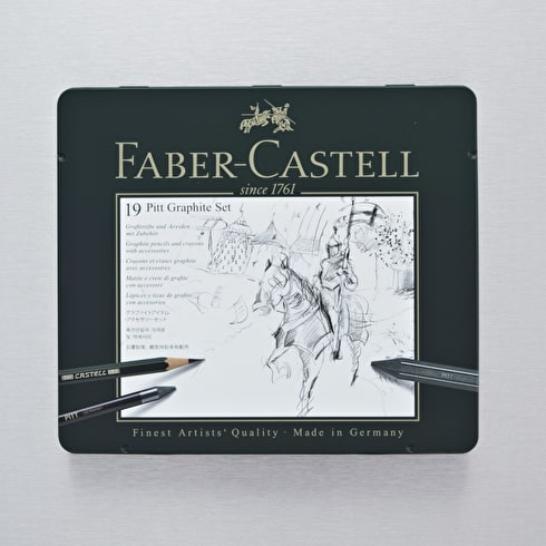 Faber-Castell Pitt Monochrome Graphite Set Medium