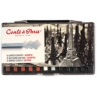 Conte Carres Crayon Traditional Set of 12 Assorted Colours