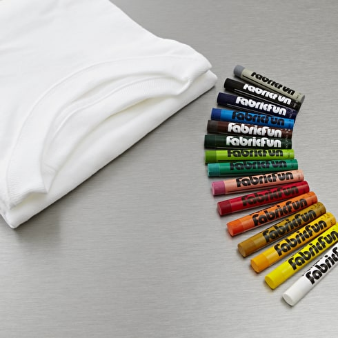 Pentel Fabric Fun Pastel & Tshirt Set of 15