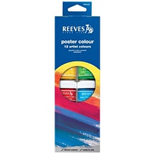 Reeves Oasis Poster Pot Set of 12 22ml Assorted Colours