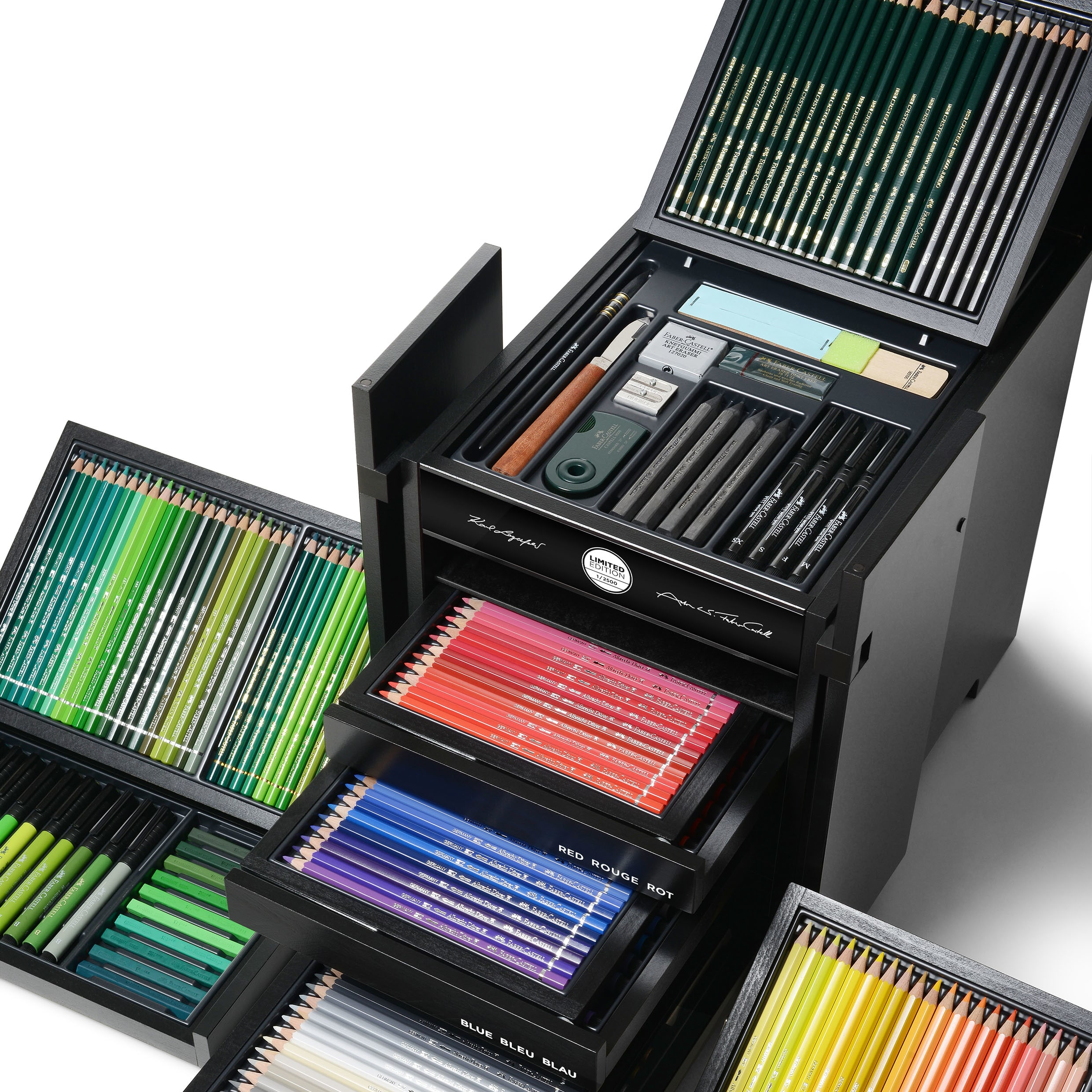 Faber Castell Karlbox Limited Edition Collection Of The