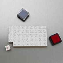NPW Typewriter Stamp & Ink Set