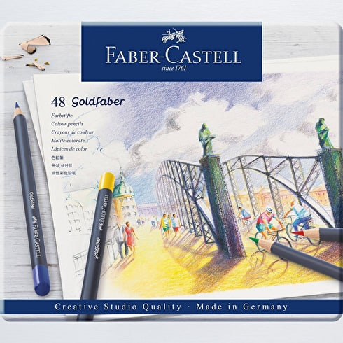 Faber-Castell Goldfaber Colour Pencils Set of 48