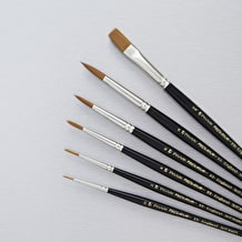 Pro Arte Prolene Series 101/106 Watercolour Brush Cass Exclusive Set of 6