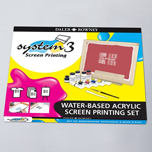 Daler Rowney System 3 Screen Printing Set | Screen Printing Supplies | Cass Art