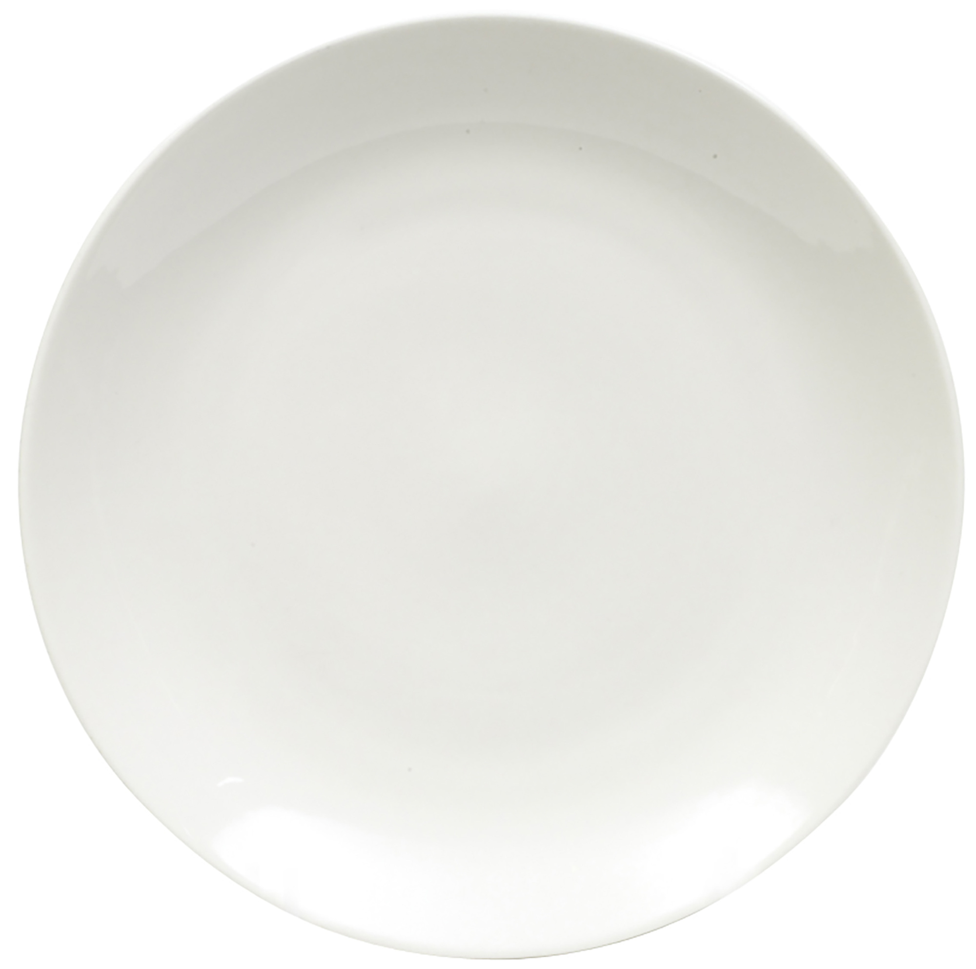 Maxwell & Williams White Basics 23Cm Coupe Entree Plate