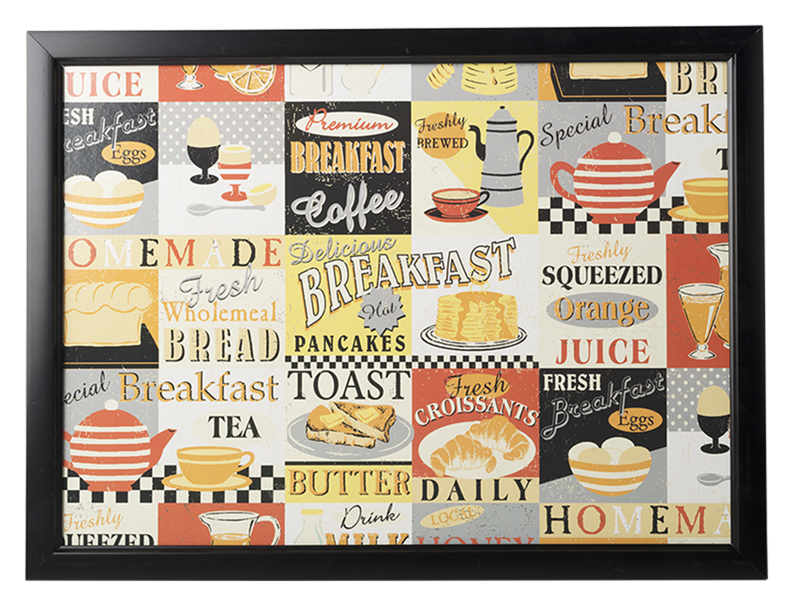 Everyday Home Retro Breakfast Laptray