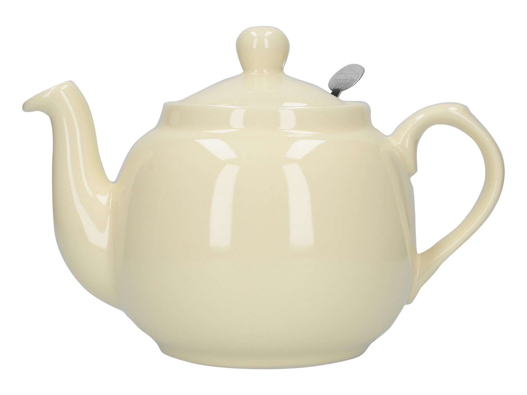 London Pottery Farmhouse 4 Cup Teapot Ivory