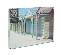 Everyday Home Photographic Beach Huts Pack Of 4 Placemats