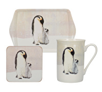 Creative Tops Snow Scenes Penguin Time For Tea