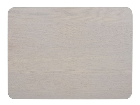 Creative Tops Naturals Wood Veneer Pack Of 4 Placemats Grey