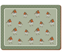 Creative Tops Into The Wild Robin Pack Of 6 Premium Placemats
